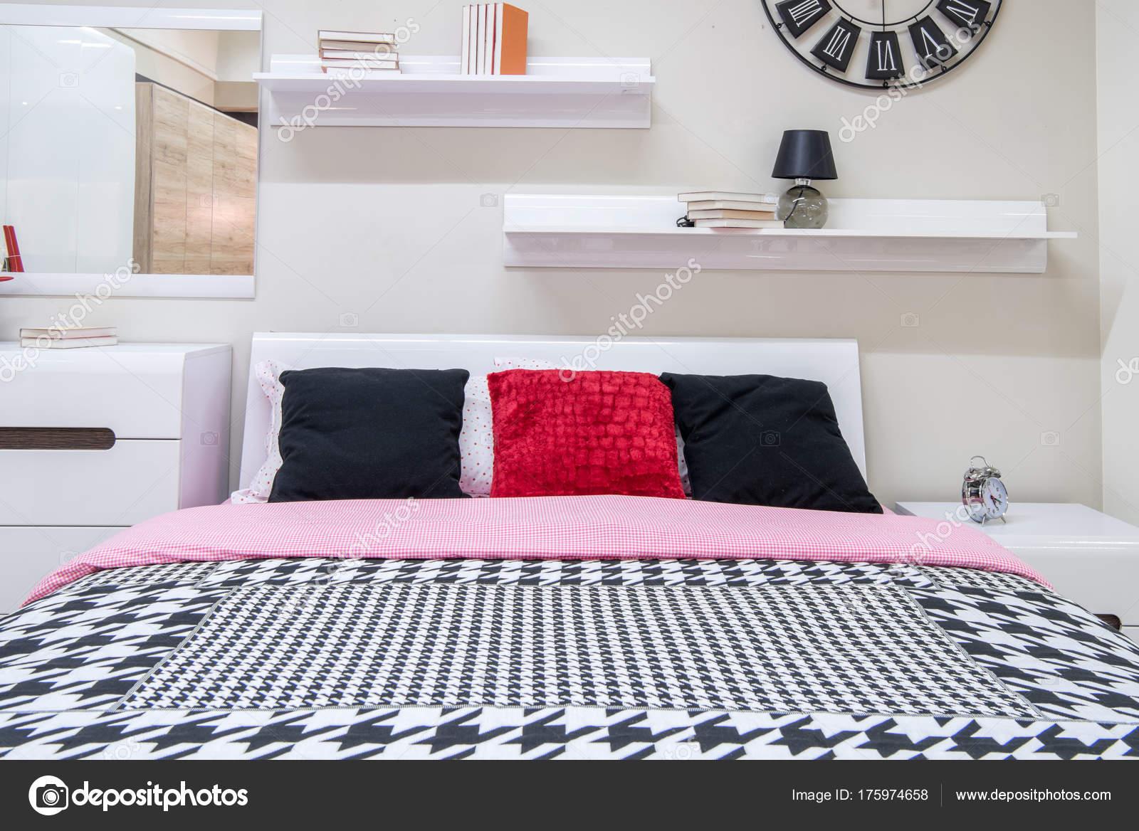 Top finest gezellige moderne slaapkamer interieur met bed for Slaapkamer landelijk modern