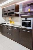 Photo cozy modern kitchen interior with furniture