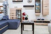 Fotografie interiér moderní útulný obývací pokoj s nábytkem