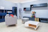 moderní obývací pokoj interiéru s nábytkem