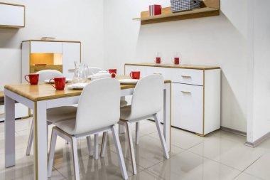 cozy modern dinning room interior
