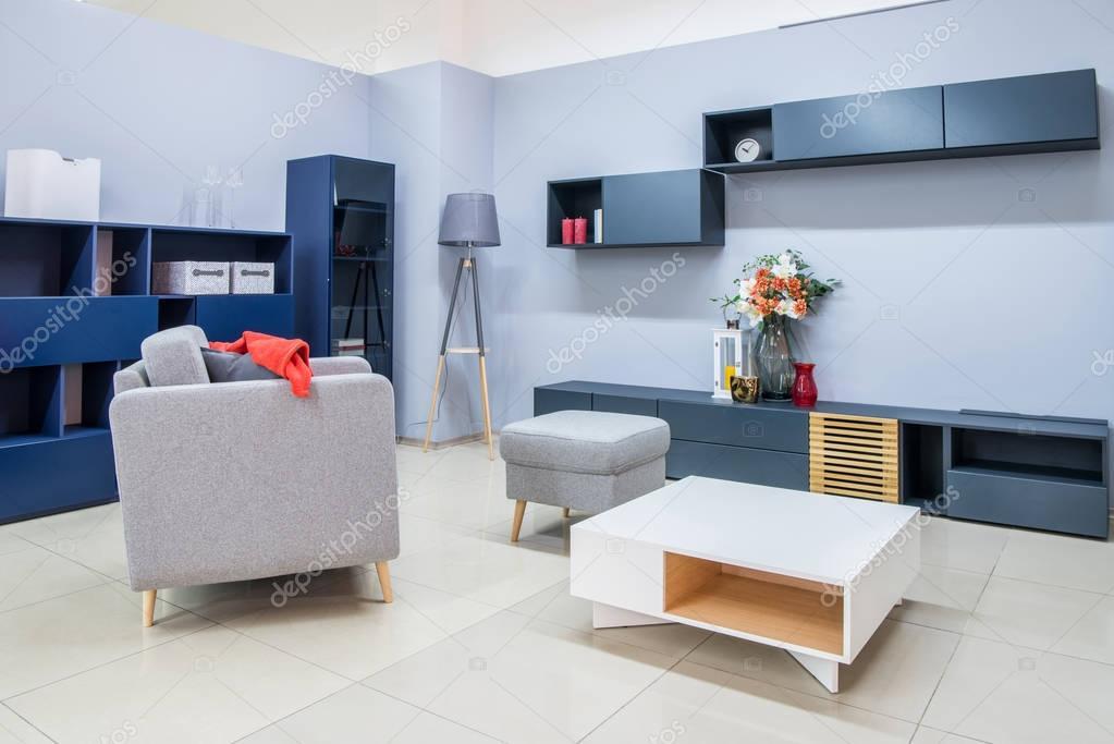 Moderne wohnzimmer einrichtung mit m bel stockfoto vitalikradko 175975556 - Moderne mobel wohnzimmer ...