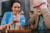 Fotografie Schach spielen