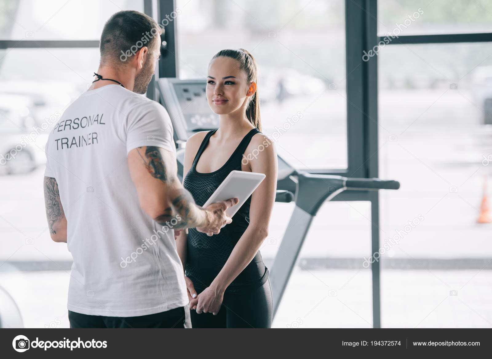 dating a fitness trainer