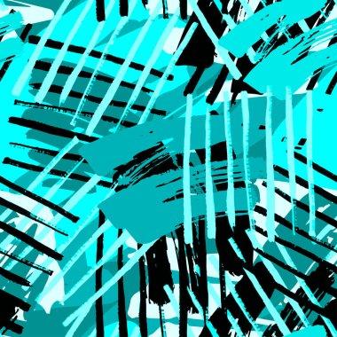 Urban seamless funky geometric pattern