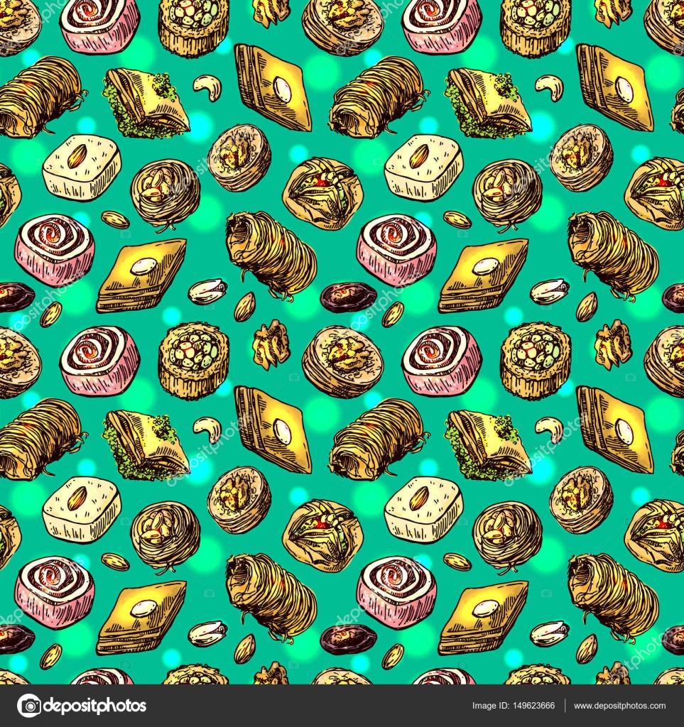 東洋のお菓子イラスト ストックベクター Margarita87 149623666
