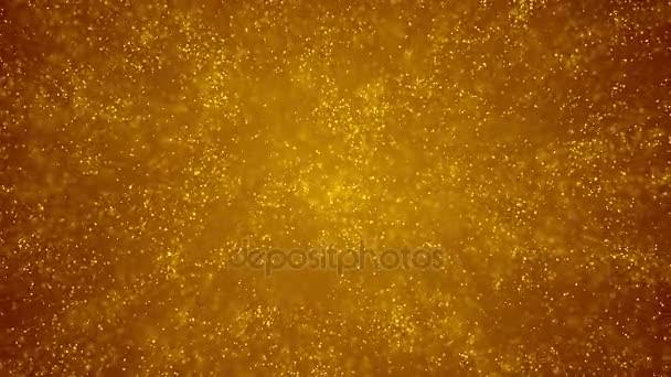 Pozadí zlatých částic