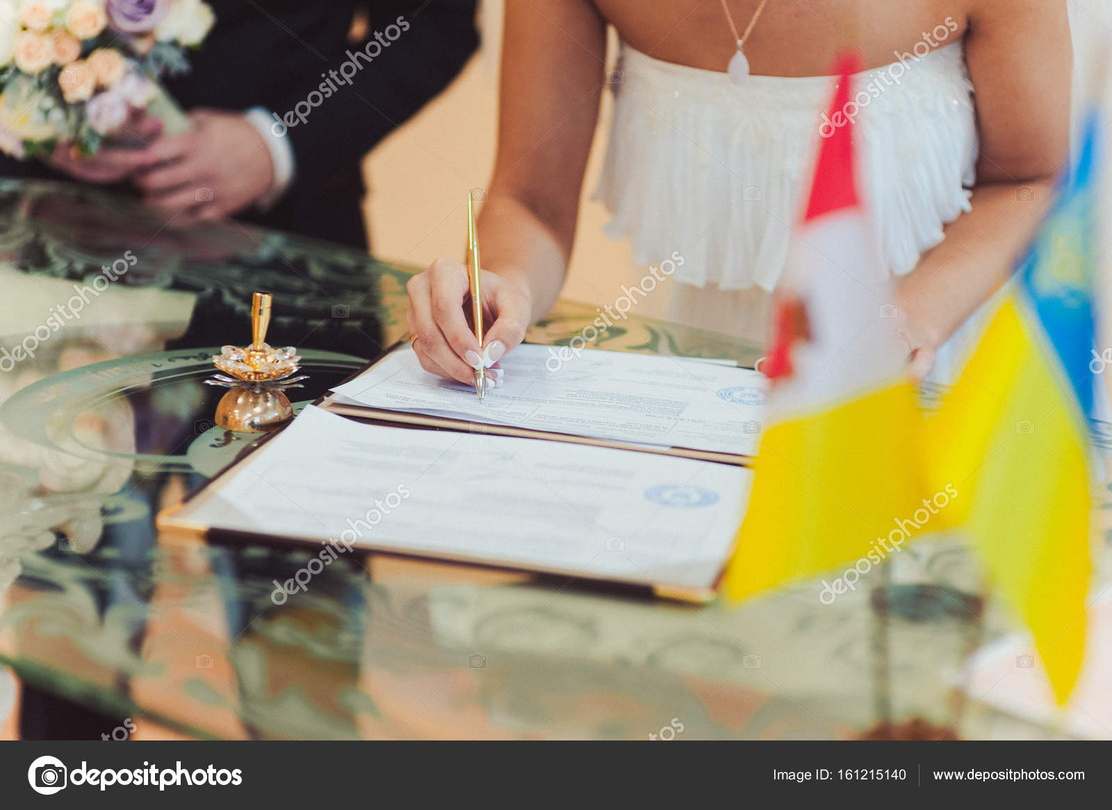 Bride documents that belonged to