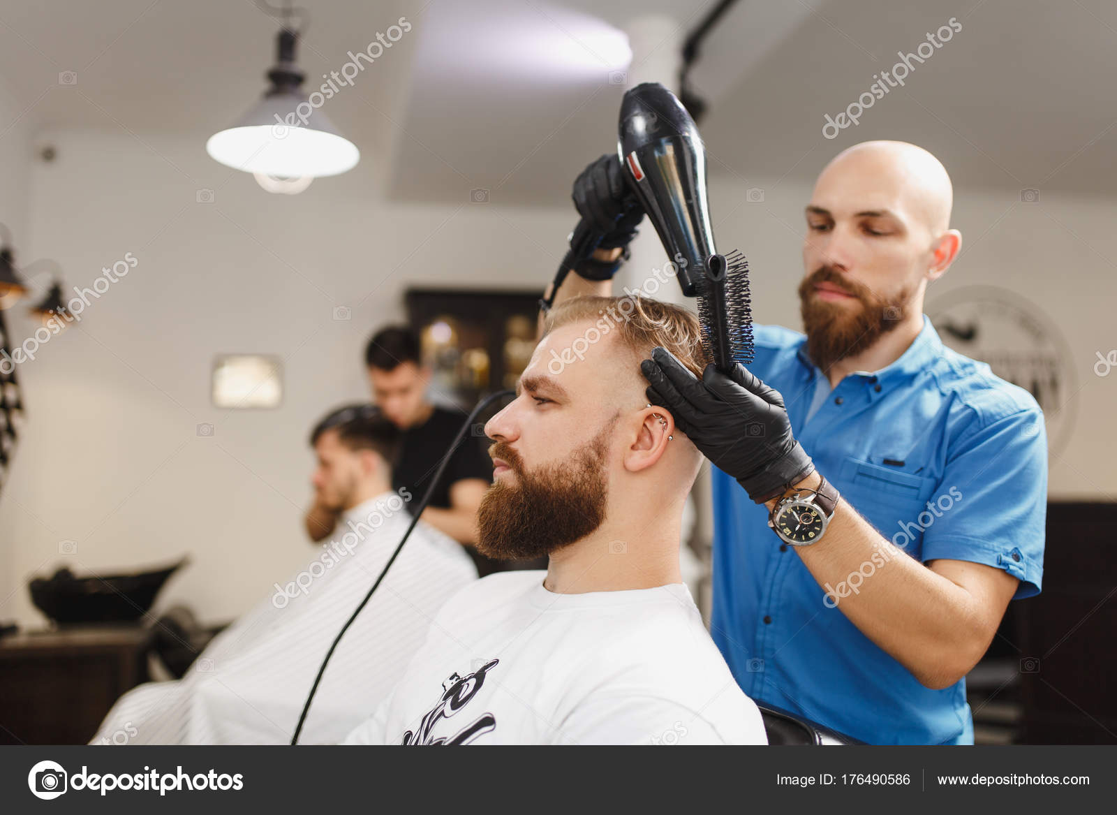 Como secar el pelo corto con secador