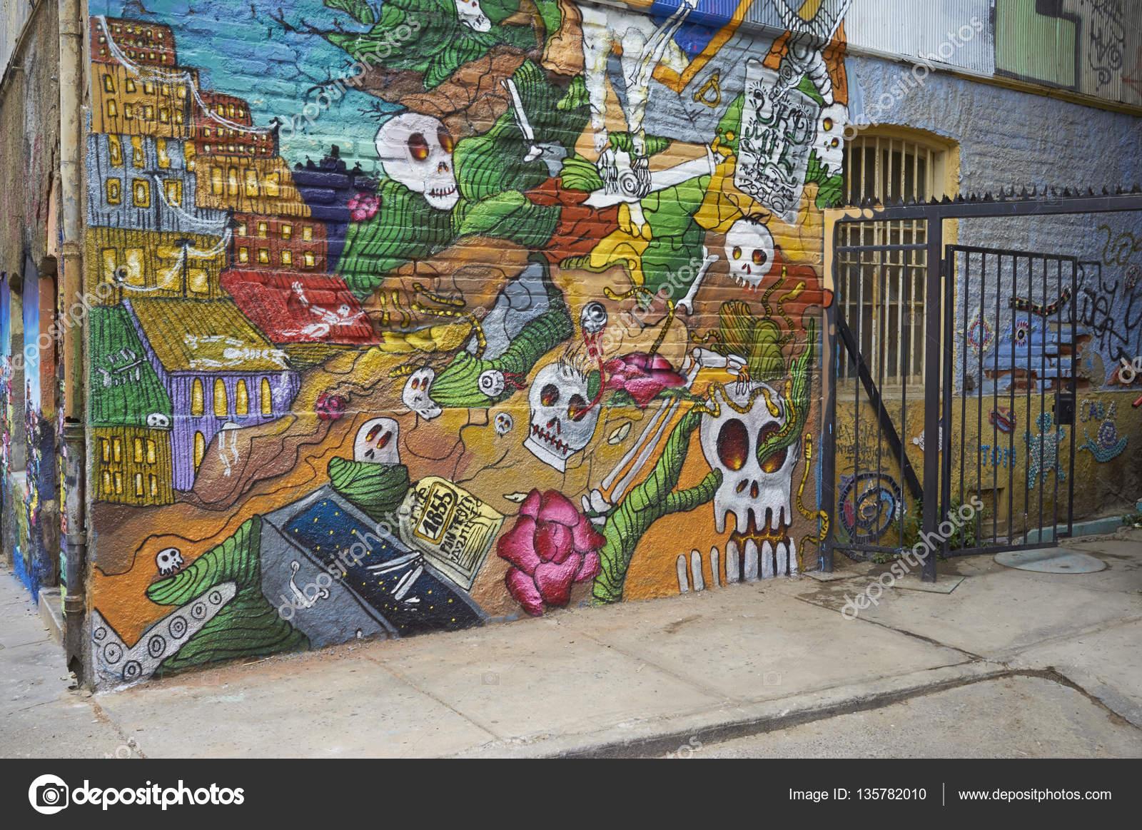 Murales Famosos En Chile