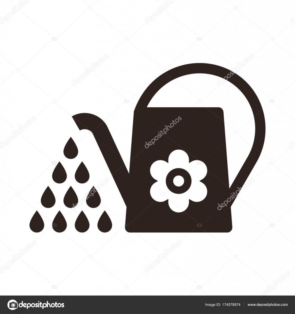 散水することができます 灌漑のシンボル ストックベクター nikolae