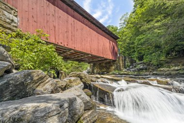 Below Packsaddle Covered Bridge