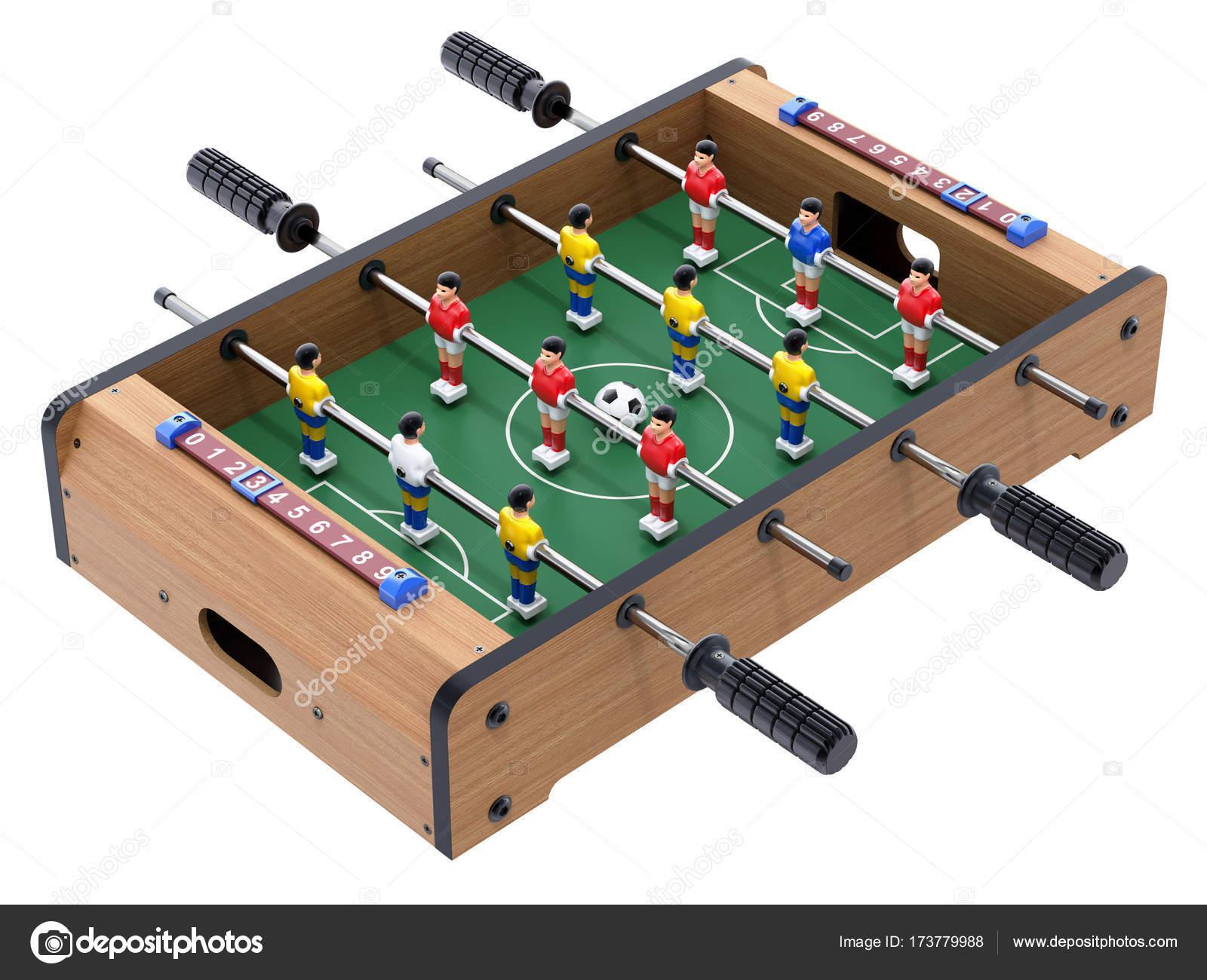 Futbol De Mesa De Juego Para Ninos Fotos De Stock C Mipan 173779988