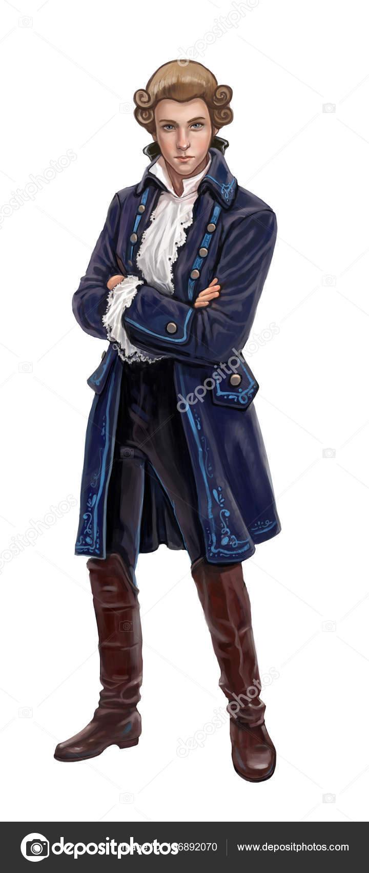 Человек в старой одежде — Стоковое фото © AnnaNenasheva ...