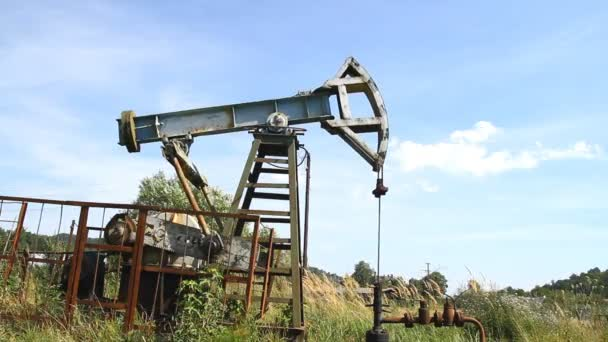 Industrial oil pump jack