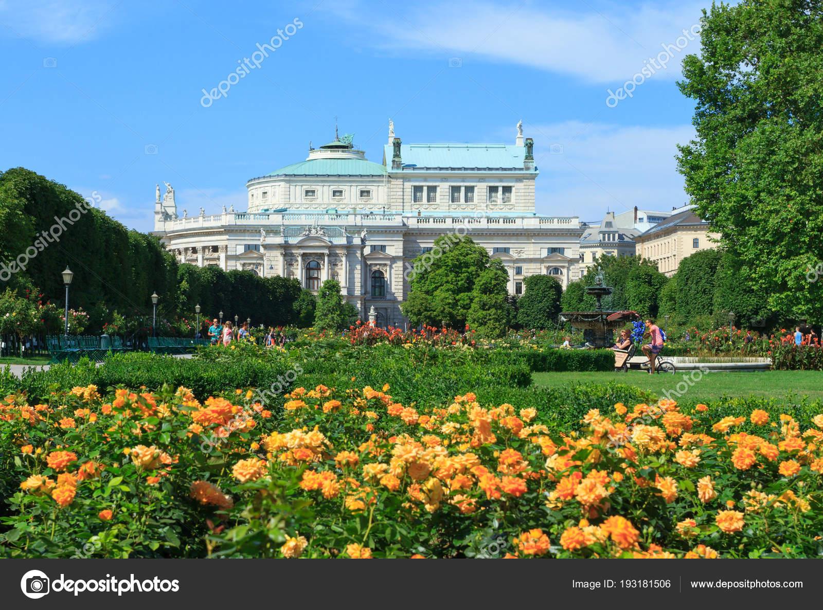Volksgarten Park In Wien Redaktionelles Stockfoto Labrador