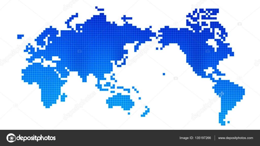 World map icon blue stock vector jboy24 135197266 world map icon blue stock vector gumiabroncs Images