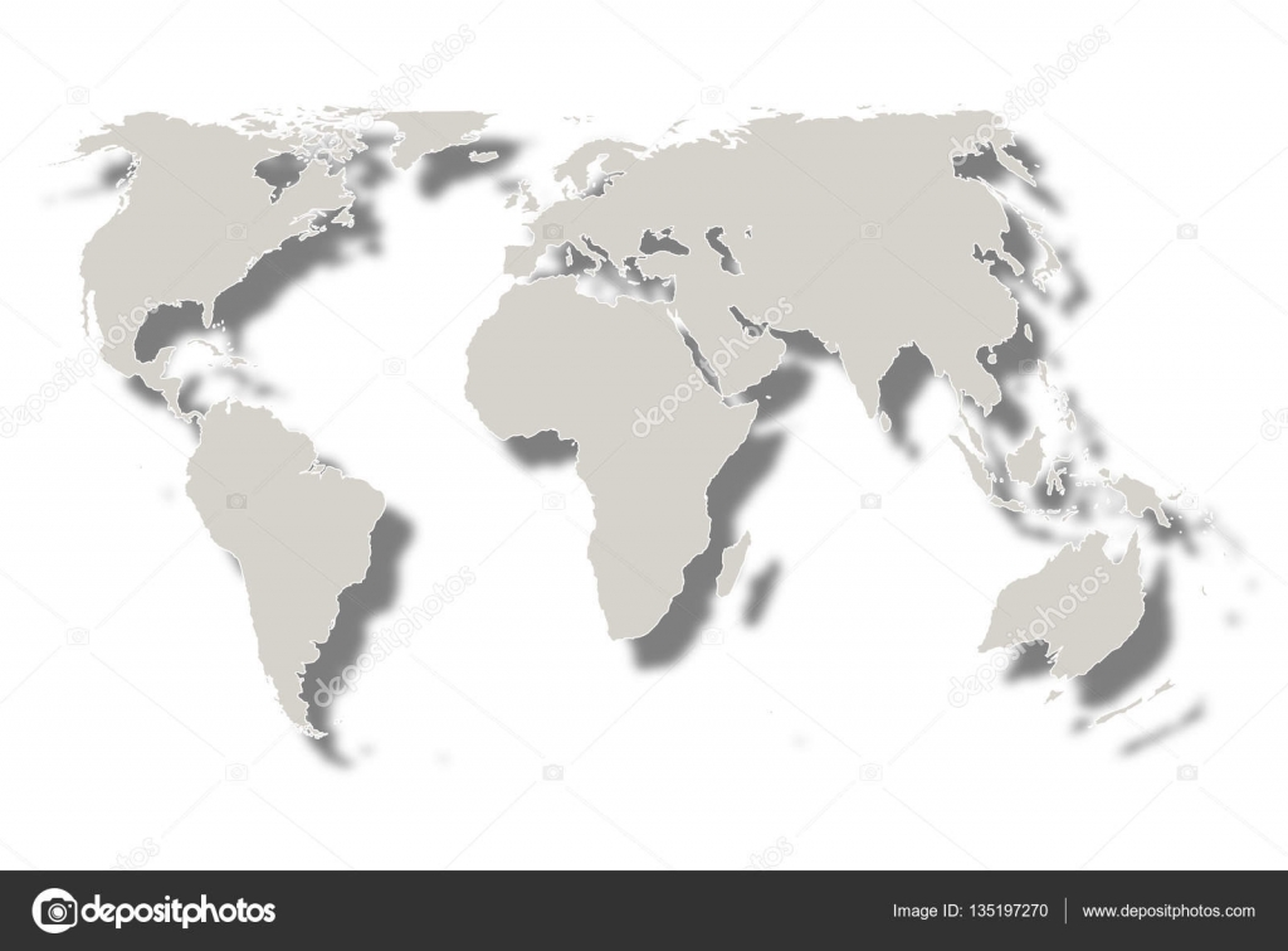 World Map Icon White — Stock Vector © JBOY24 #135197270