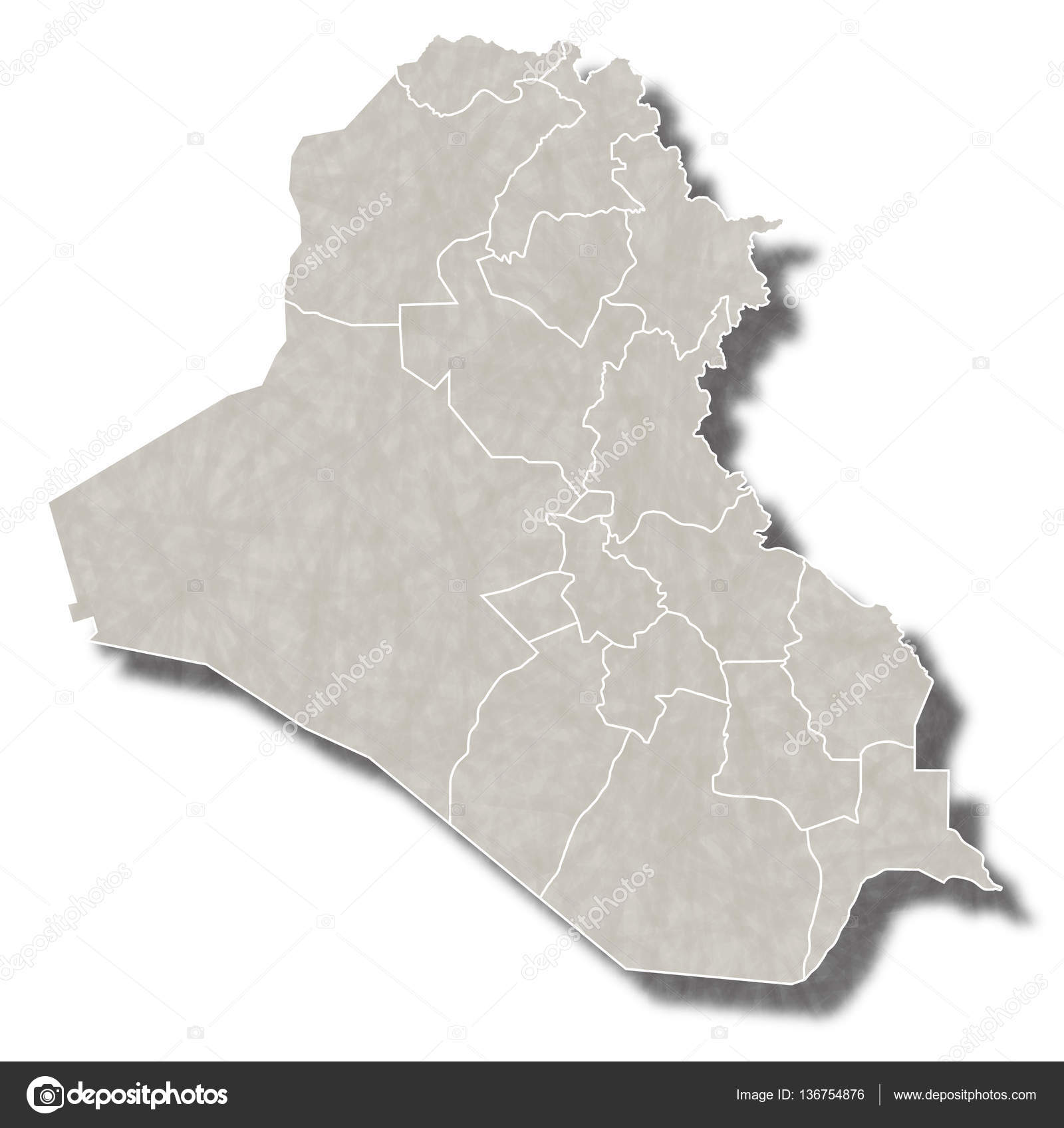 Iraq map city icon Stock Vector JBOY24 136754876