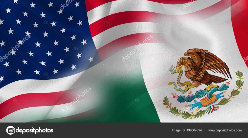 Fondo De Bandera De México De América