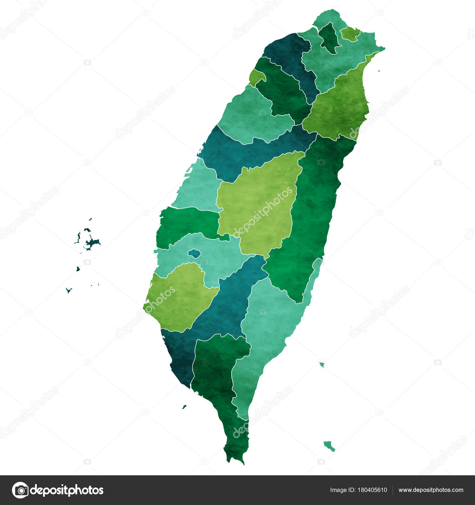 taiwan world map country icon stock vector