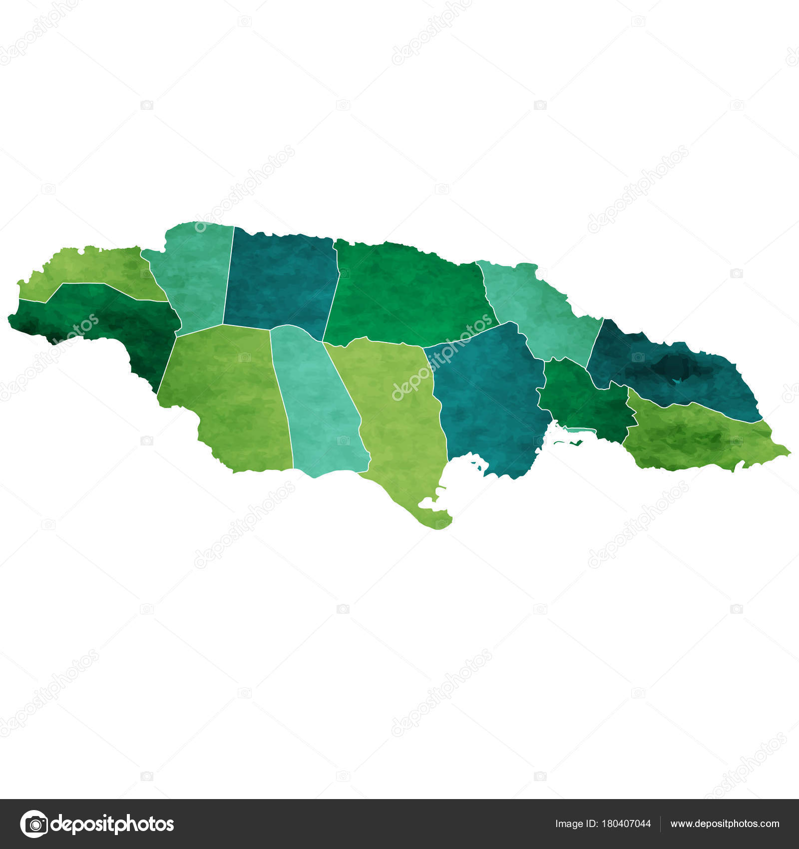 Jamaica World Map Country Icon — Stock Vector © JBOY24 ...
