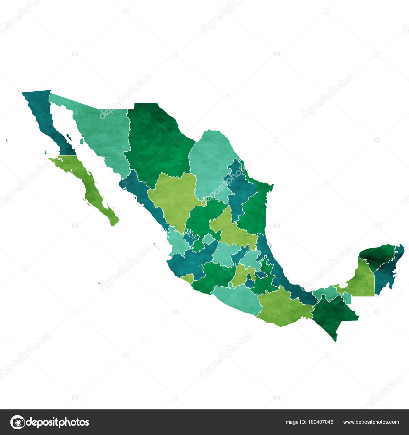 mexico world map country icon stock vector