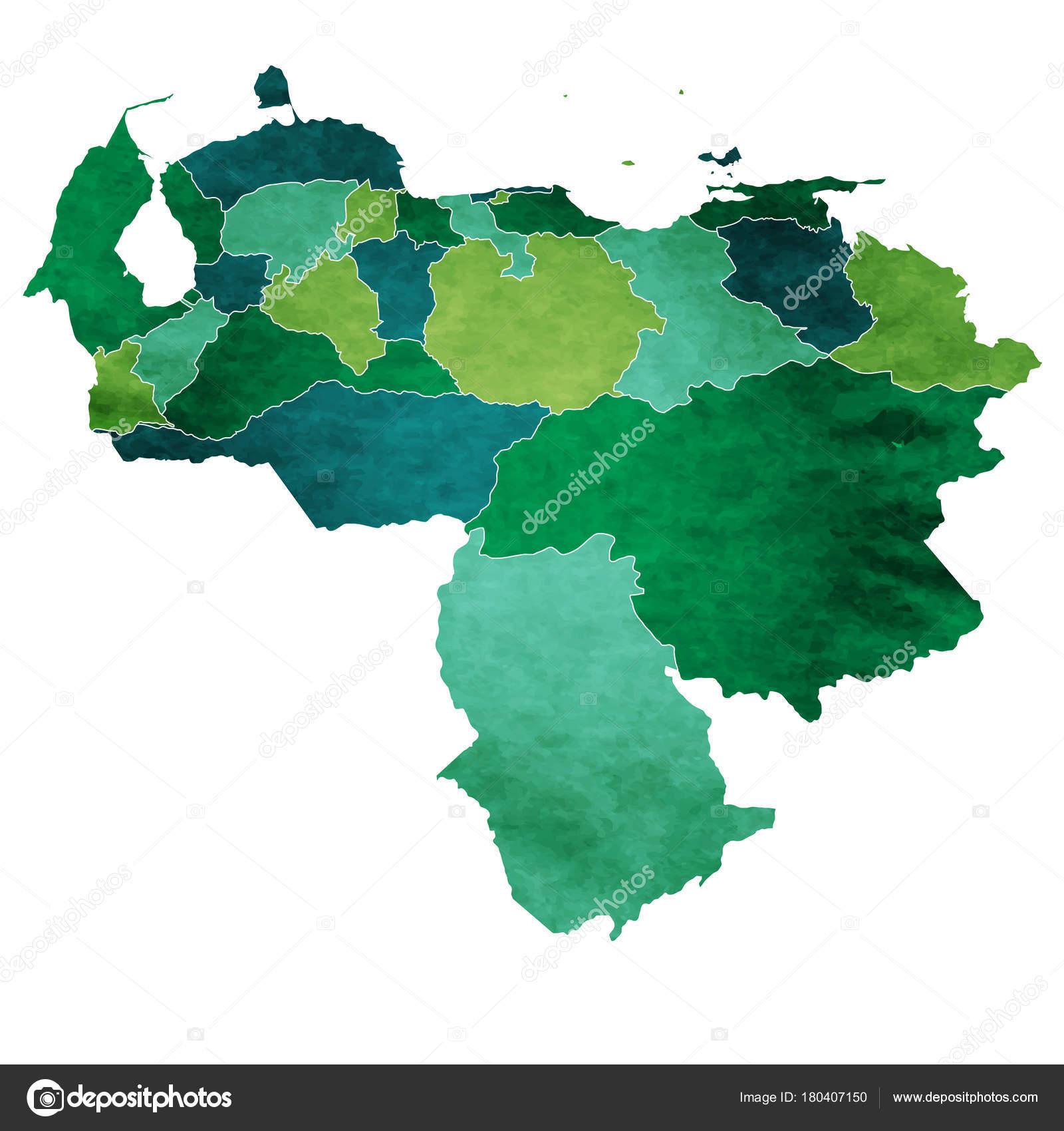 Venezuela World Map Country Icon — Stock Vector © JBOY24 #180407150