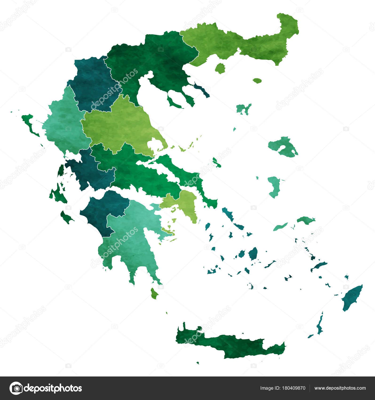 Greece World Map Country Icon — Stock Vector © JBOY24 #180409870