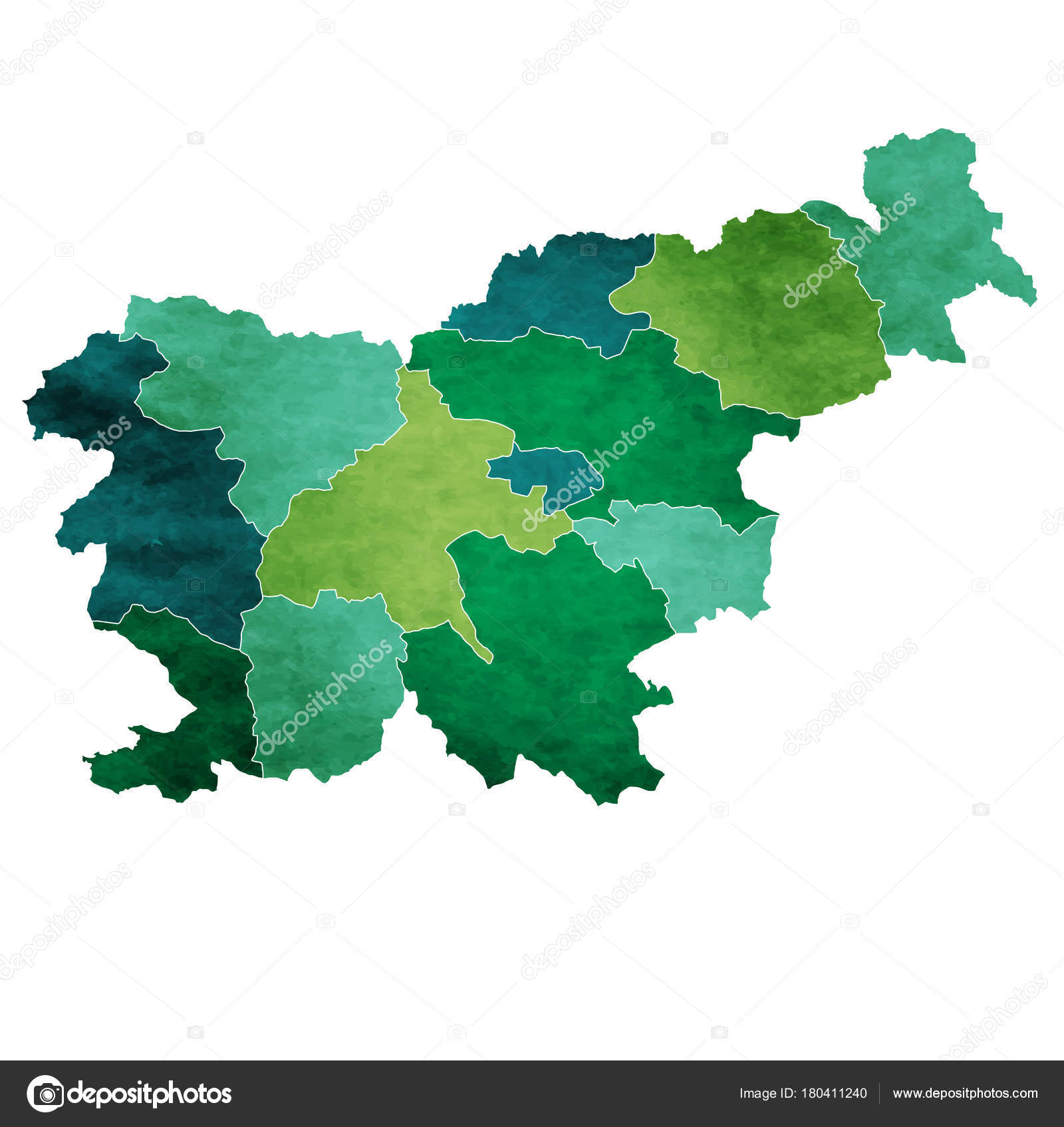 Picture of: Slovenia World Map Country Icon Stock Vector C Jboy24 180411240