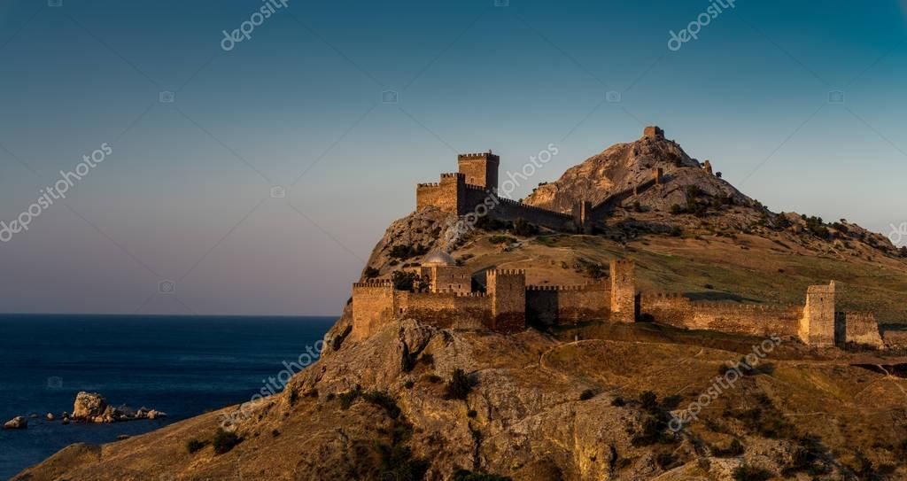 Genoa fortress in Crimea