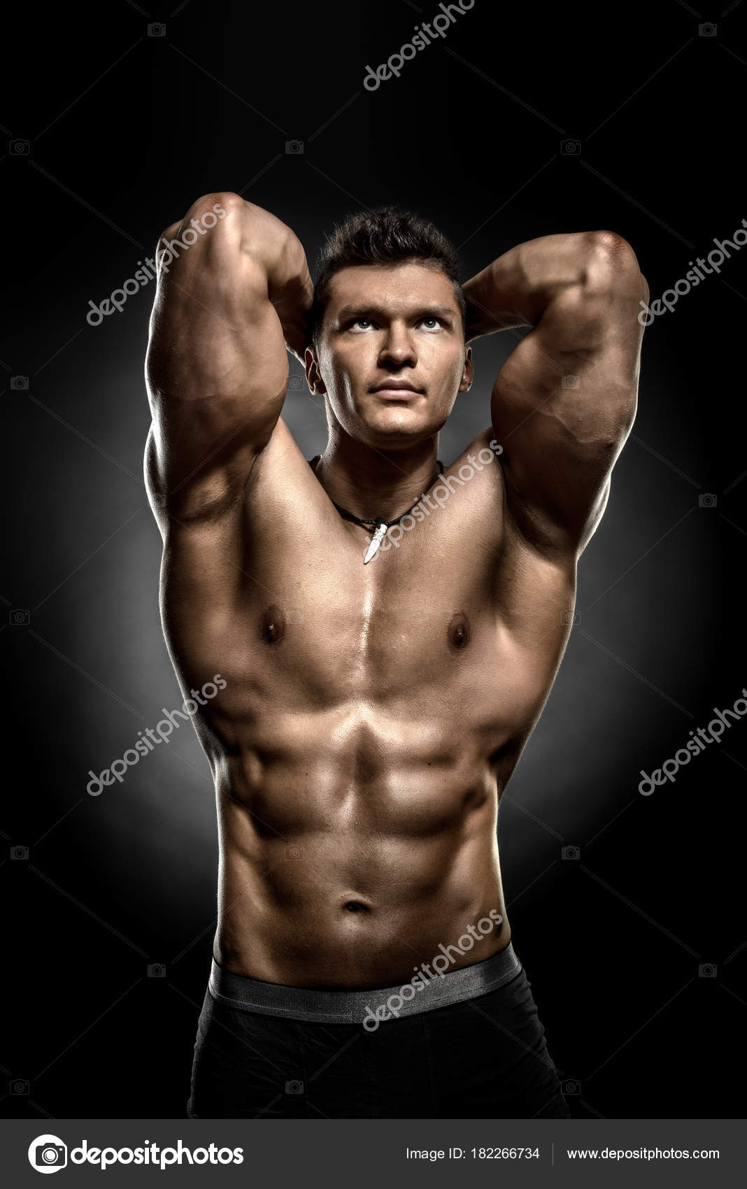 Фото мускулистые парни негри 9
