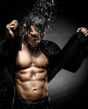 muscular sexy guy