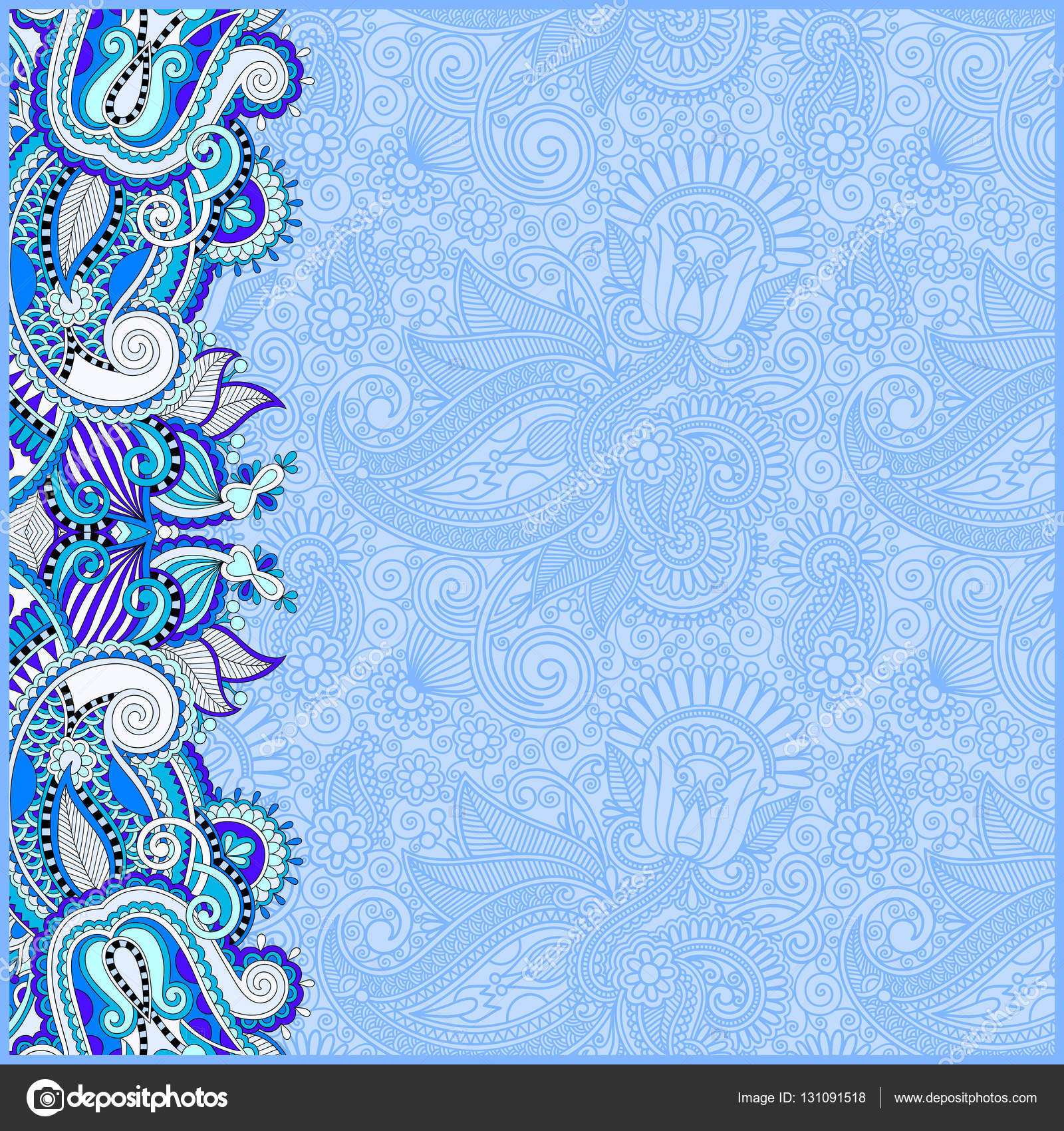 25 Inspirational Blue Invitation Background Designs For Debut