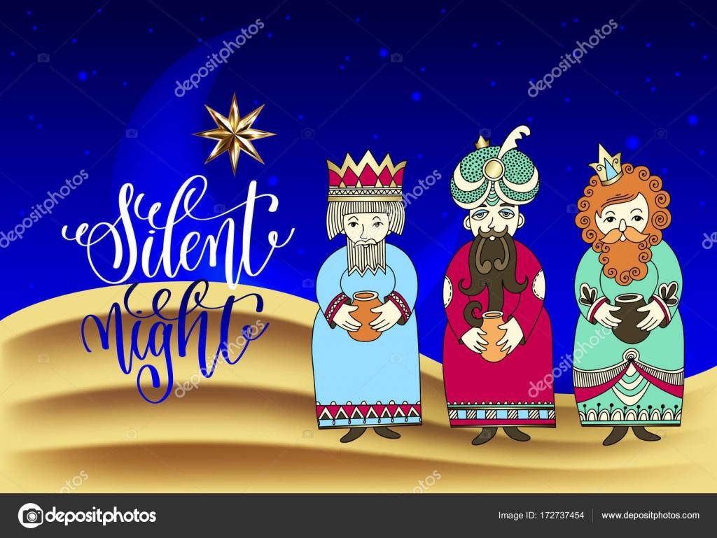 Christliche Bilder Weihnachten.Die Heiligen Drei Könige Für Christliche Weihnachten Ferien Design