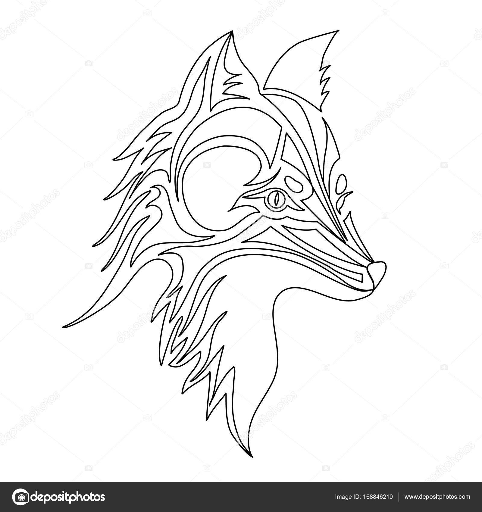 Cara De Zorro Para Pintar Cara De Perro O Zorro Tatuaje