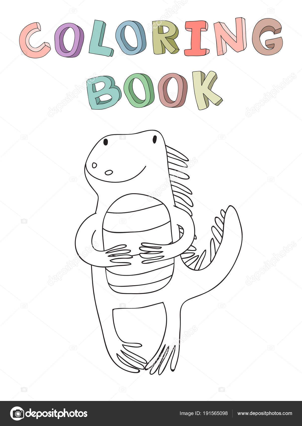 Imágenes Iguana Animada Facil Personaje De Dibujos Animados Lindo