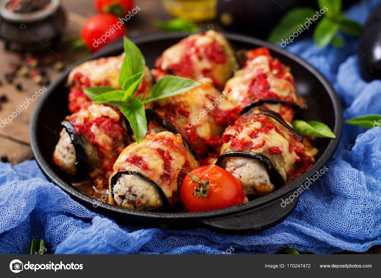 Etli Rulo Patlıcan