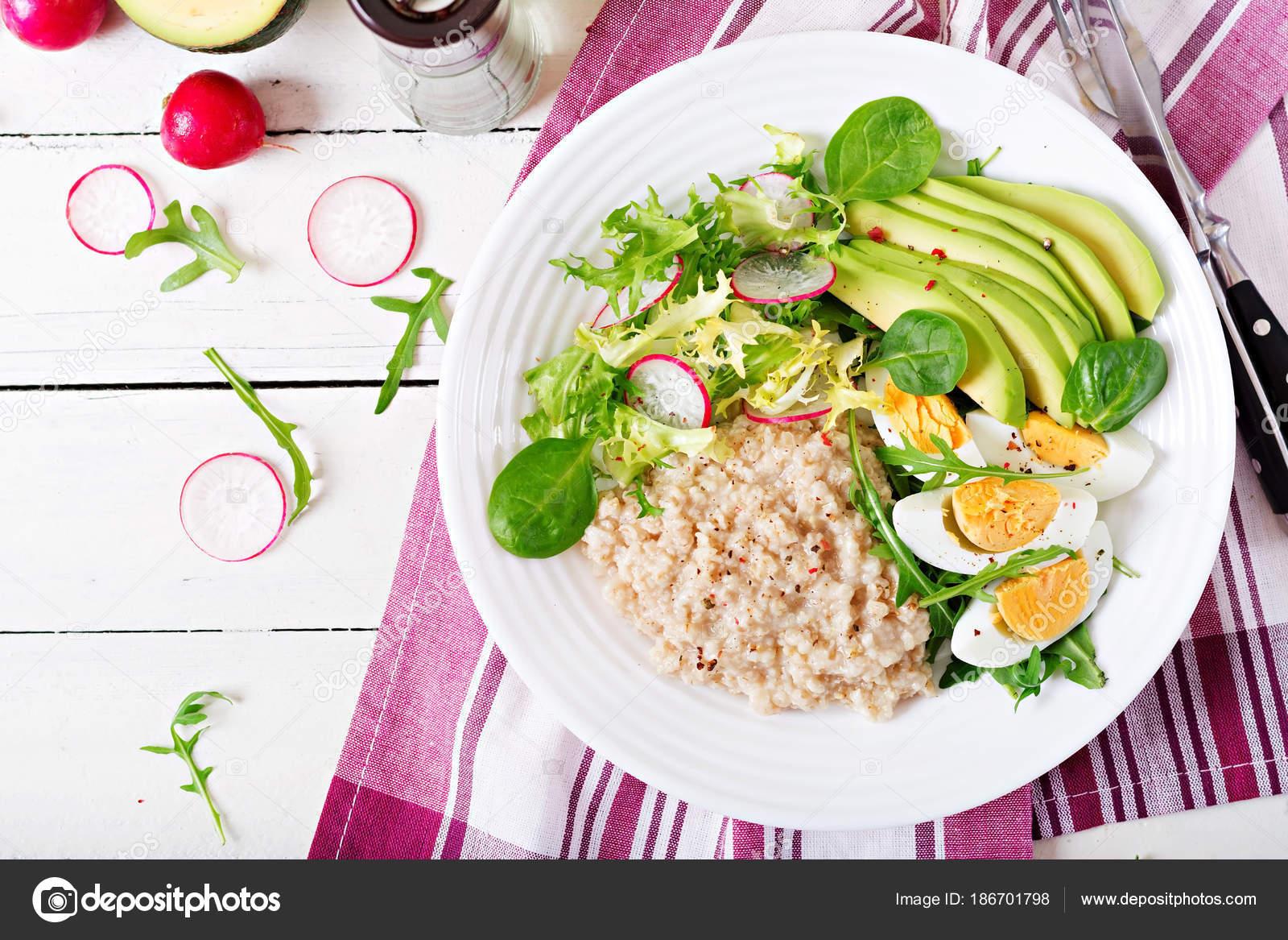 gezond ontbijt menu