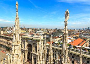 Duomo roof in Milan