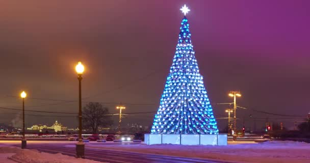 Time Lapse Christmas Tree Stands Square Backlight Similar Northern
