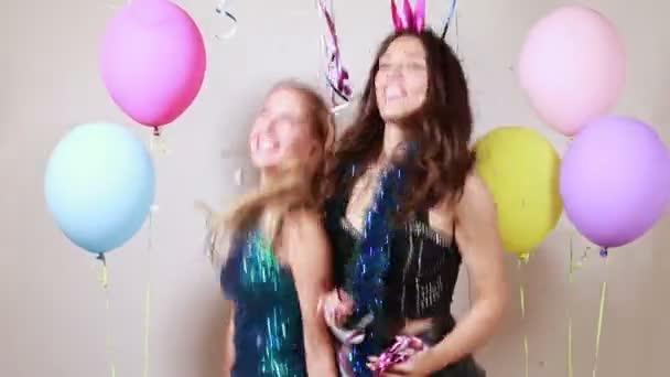 tánc party photo Booth alkalmazással a lányok