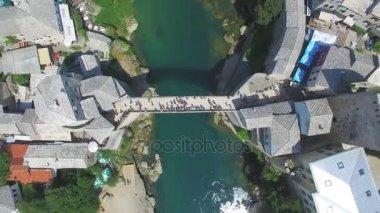 bathing spot next to the bridge