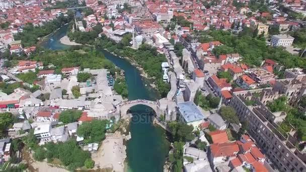Mostar město na řece Neretva