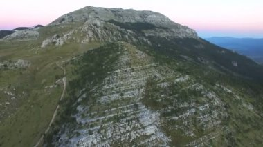 Highland hora Dinara v Chorvatsku