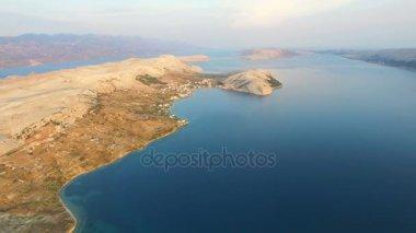 barren landscape of Pag island