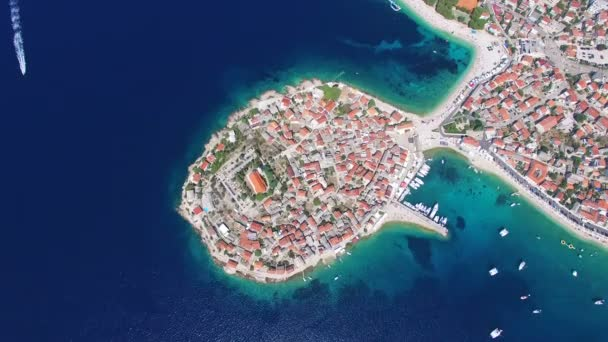 motorový člun předávání poloostrově Primošten