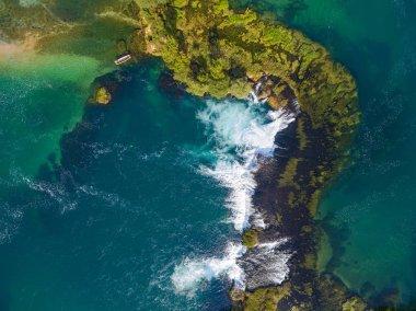 Una river waterfall