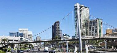 A Harbor Drive Pedestrian Bridge in San Diego