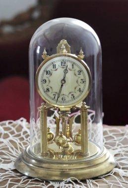 A Torsion Pendulum Clock, Anniversary Clock, or 400-day Clock
